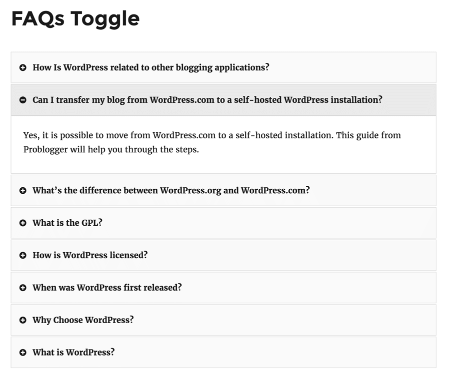 faqs-shortcode-toggles