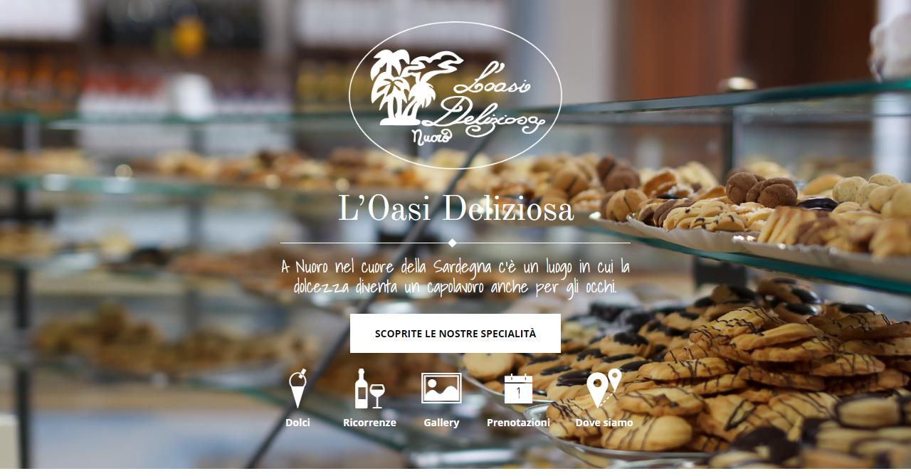 L'oasi Deliziosa - homepage
