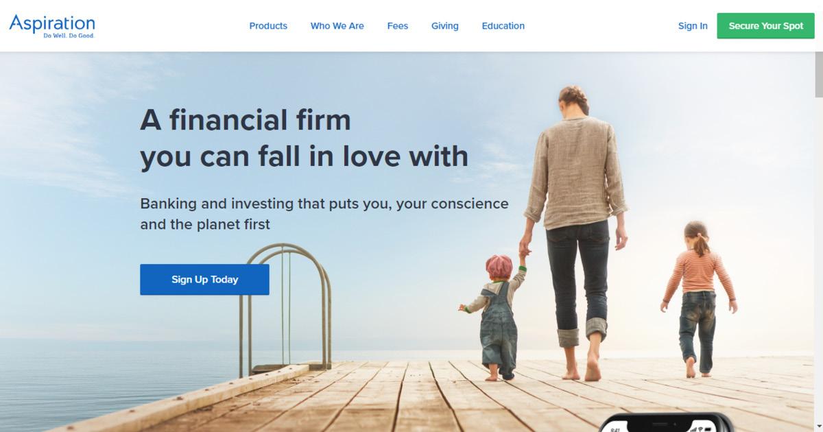 Homepage Aspiration