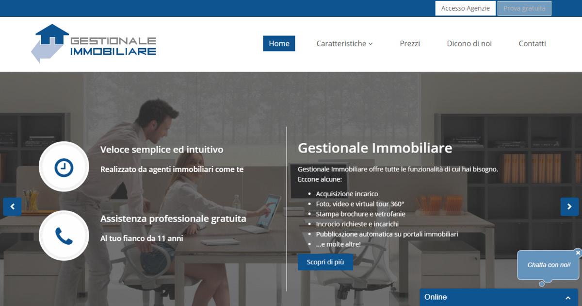 Homepage Gestione Immobiliare