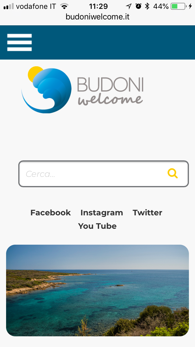 Budoni Welcome vista Mobile Phone